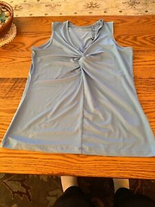 Nwt Large Soul Sports Blue Daily Ladies Tank UUP8w1O