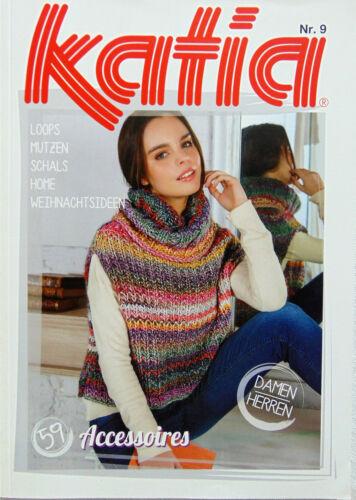 Accessoires KATIA  Zeitschrift Nr.9; 59 Modelle; Strickanleitung;