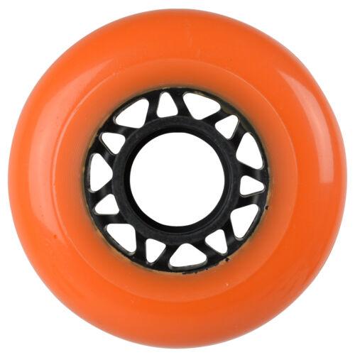 Labeda Asphalt Outdoor Inline Roller Hockey Wheels 72mm Orange 85A Outdoor 4-Pa
