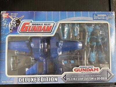Bandai Gundam Mobile Suit In Action Figure Gouf Gundam Lot Msia