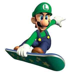 Image is loading Super-Mario-LUGI-SKATEBOARD-Vinyl-Sticker-Decal-18- b8eda3f8587