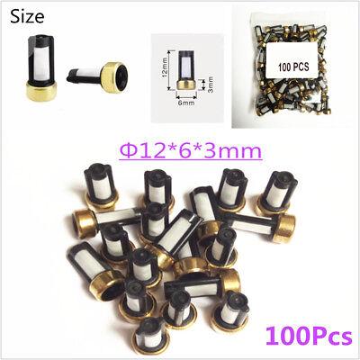 100Pcs Fuel Injector Filter Micro Basket Filter for ASNU03C Injector Repair Kits