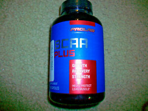 NEW Prolab BCAA Plus Growth Recovery Strength 180 Capsules