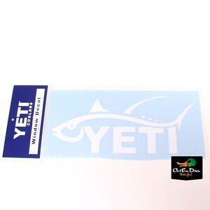 Authentic Yeti Coolers Sportsman S Decal Tuna Fish Sticker