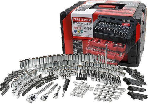 NEW Craftsman 450 Piece Mechanic Tool Set W 3 Drawer Case Garage Box 311 254 230