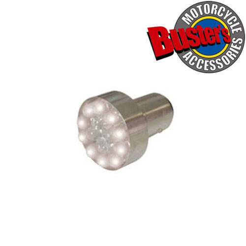 Motorcycle Motorbike LED Rear Stop Tail Light Replacement Bulb White 12v