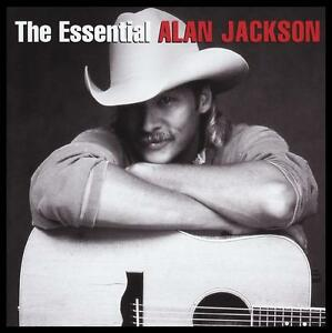 ALAN-JACKSON-2-CD-THE-ESSENTIAL-JIMMY-BUFFETT-ZAC-BROWN-90-039-s-COUNTRY-NEW