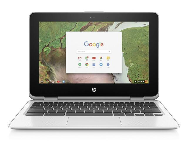 "HP 11-ae091wm Chromebook x360 11"" 2in1 Laptop N3350 4GB RAM 32GB eMMC Chrome OS"
