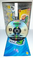 EYETOY PLAY 3 EYE TOY - Playstation 2 Ps2 Play Station Gioco Game Sony