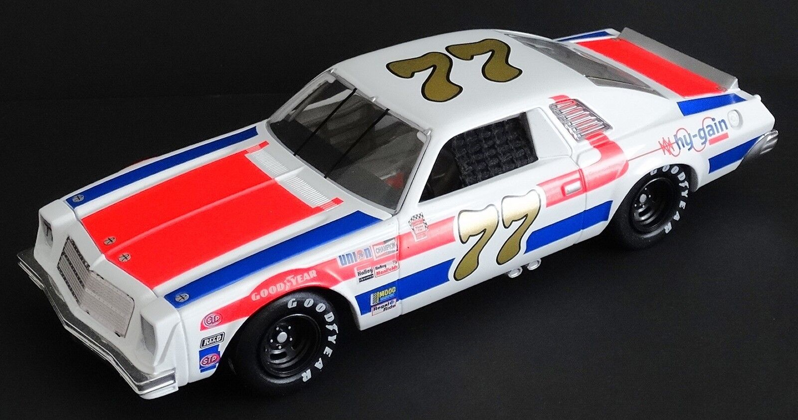 Dale Earnhardt, Sr.  77 Hy-Gain Hy-Gain Hy-Gain 1 24 Rcca Elite 1976 Chevrolet Malibu 1371 2500 1adcc8