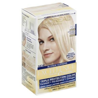 L'Oreal Excellence Creme Blonde Supreme 02 Extra Light Natural