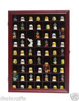 59 Thimble Miniature Display Case Cabinet Wall Rack Box Shadow Box : Tc01