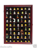 59 Thimble Miniature Display Case Cabinet Wall Rack Box Shadow Box : Tc01