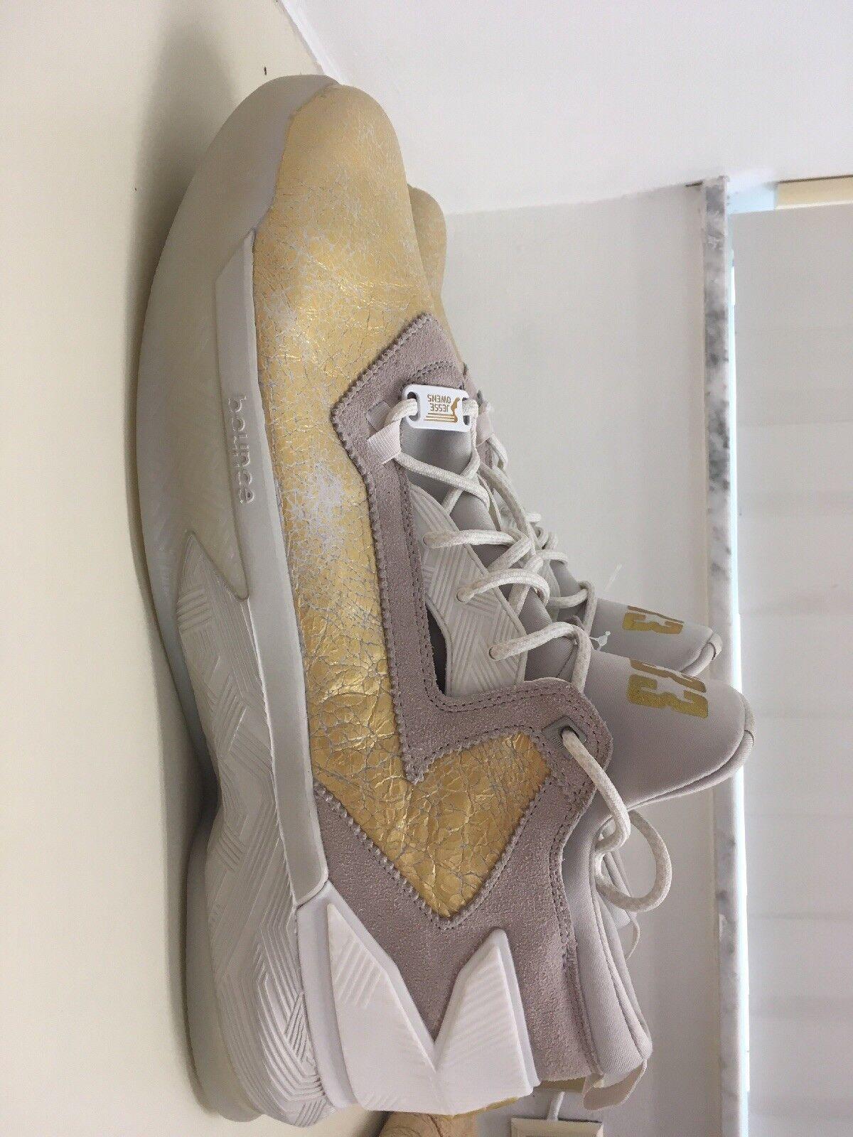Adidas Damian D Lillard 2 BHM Talc Gold Dust Dust Dust Metallic White 17 AQ7959 aea88b