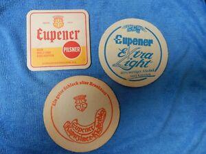 3 oude  bierviltjes  bierdeckel EUPNER  PILSNER   R/V                      /