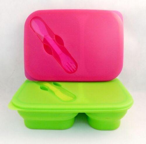 pliable 2 tailles... beurre contenantdes-Boîte de conserve 3 couleurs provisions Box silicone Boîtier plat