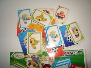 KINDER SURPRISE - MAGIC SPORT SOCCER ANIMALS CARD GAME ITALY - TOYS COLLECTIBLES