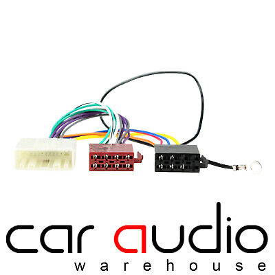 details about ct20ns03 for nissan 350z 05> car stereo radio iso harness  adaptor wiring