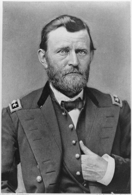 General Civil War US President  8x10 Print 2205 Ulysses S Grant by C Mayer