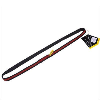 22KN 60cm Polyester Webbing Strap Sling Bearing Cord For Rock Climbing Arborist