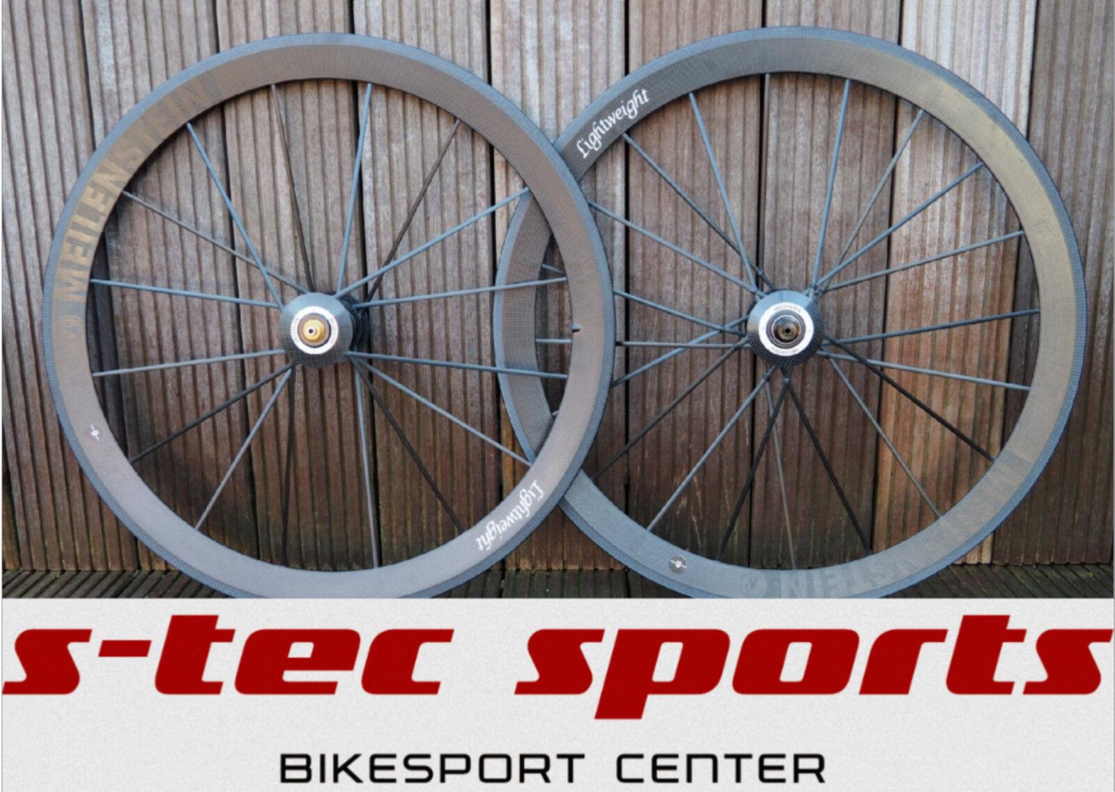 Lightweight Milestone 2015 Wheelset Carbon Clincher, Road Bike, Roadbike