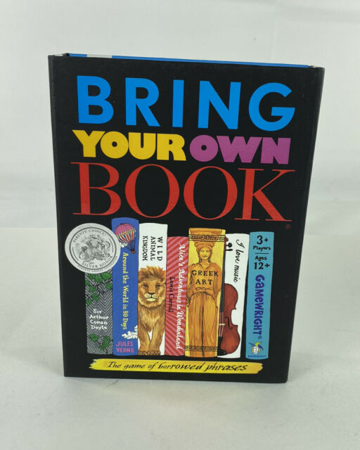 Bring Your Own Book Game Gamewright 109 For Sale Online Ebay