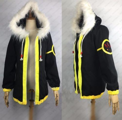 Anime undertale frisk coat Cos Cosplay Costume Jacket Custom-made