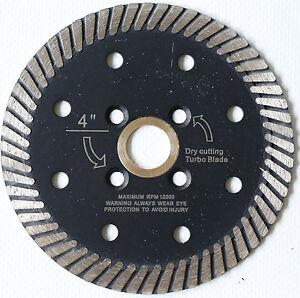 4 Inch Diamond Turbo Cutting Blades 10 Pieces Granite