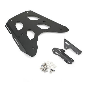 Black Rear Top Case Carrier Luggage Rack Fits Kawasaki KLE650 Versys 650 16-2019