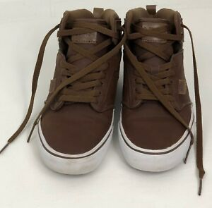 0ce9170c11 Vans Men s Leather Sneakers Size 8 Brown Color All Weather Terrain ...