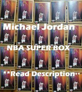 Michael Jordan NBA Super Box: 25 Cards Including: 1 Autograph+ 3 Michael Jordan