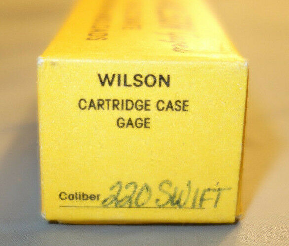 LE Wilson Inc Case Gauge 220 Swift