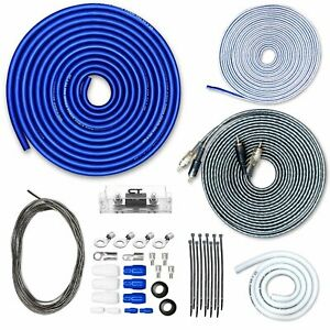 CT Sounds CCA Car Amp Kit 4 AWG 4GA PRO Series Wire Installation Amplifier Kit