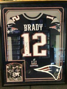 Tom Brady Signed Super Bowl Jersey - Tristar LE 4/12   eBay