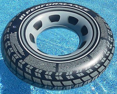 """Intex 36 """"gonfiabile Pneumatico Tire Anello Tubi 59252np-mostra Il Titolo Originale Design Accattivanti;"""