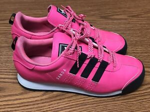 buy online ba696 20347 Image is loading Adidas-S84418-Originals-Samoa-Women-039-s-Pink-