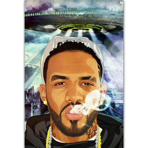 Silk Custom Poster Joyner Lucas ADHD New Rapper Music Star C-70