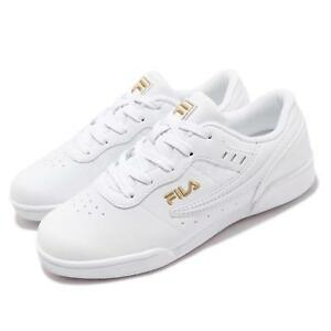 clear and distinctive search for latest complimentary shipping Details about Fila 4J327T119 White Gold Men Women Classic Casual Lifestyle  Shoes Sneakers