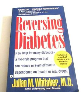 Reversing Diabetes - Paperback By Whitaker, Julian - GOOD