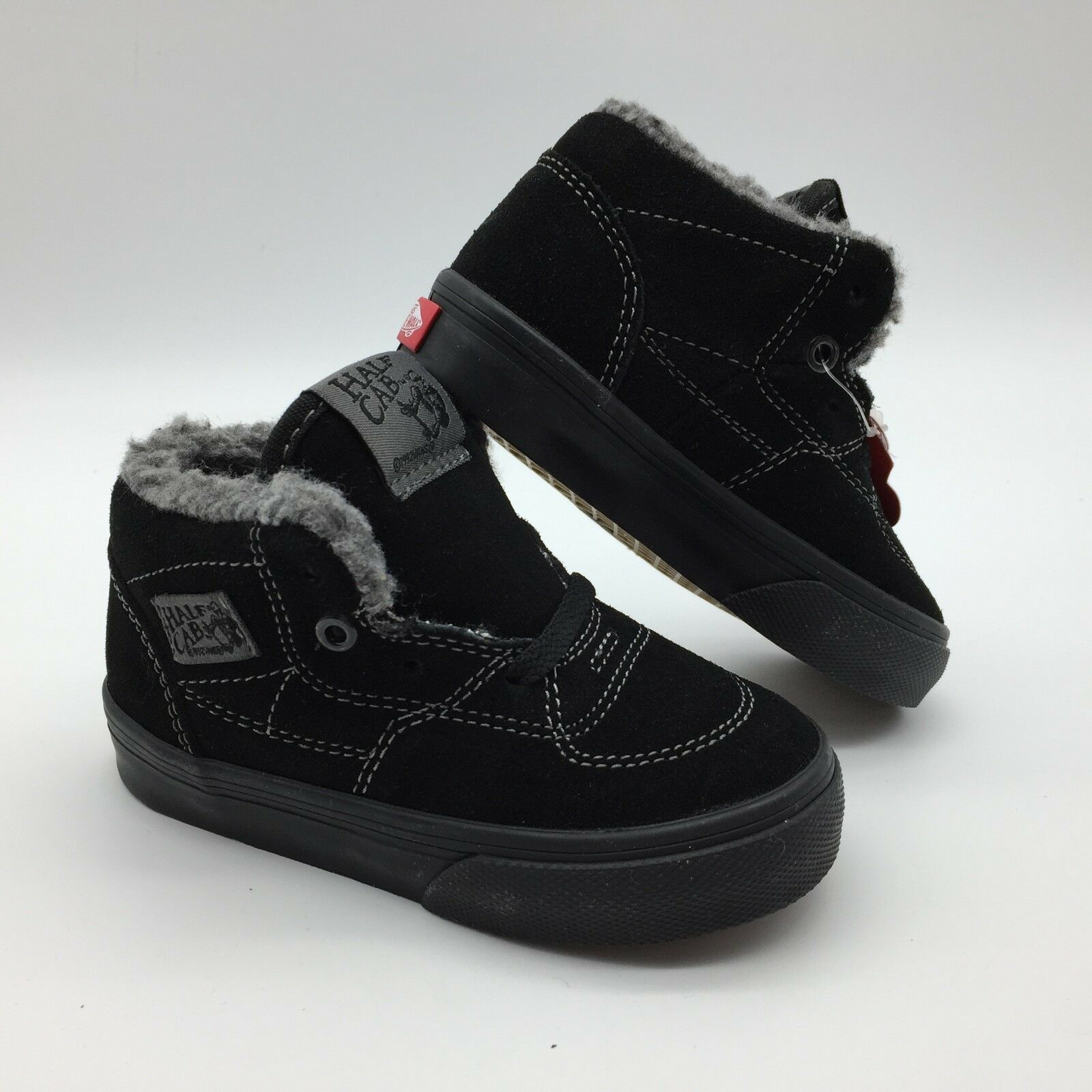 Vans Toddlers shoes Half Cab  Sherpa  Black Black