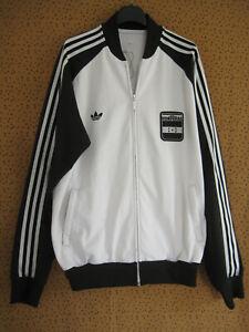 Veste Adidas Originals Honduras Football Jacket Homme vintage Blanche - XL