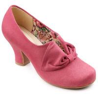 Hotter Donna Suede Heel Shoes. Pink. Size 7.5. 7 1/2. Rrp £85 Bestseller