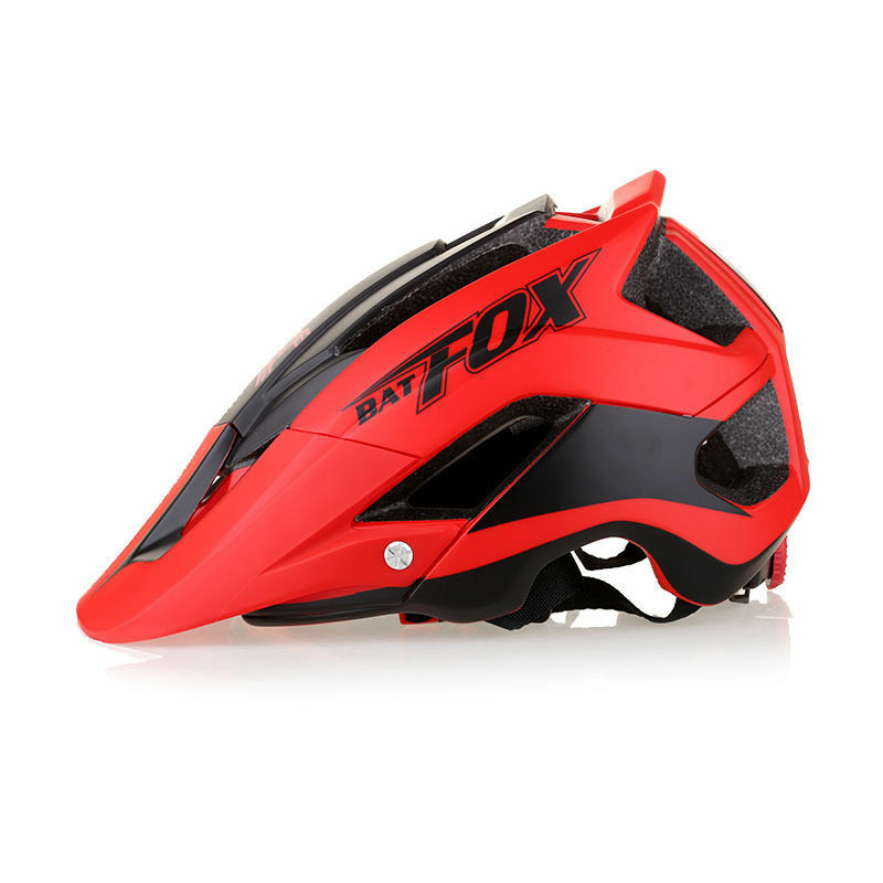 MTB Bike Helmet Bicycle Cycling Detachable Sun Visor Safety Mountain Integrally