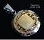 12 Zodiac Signs Horoscope Charm Pendant Stainless Steel Silver Gold MEN WOMEN