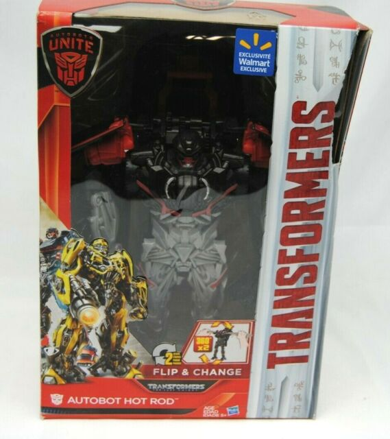 NEW OFFICIAL TRANSFORMERS AUTOBOT UNITE FLIP /& CHANGE AUTOBOT HOT ROD