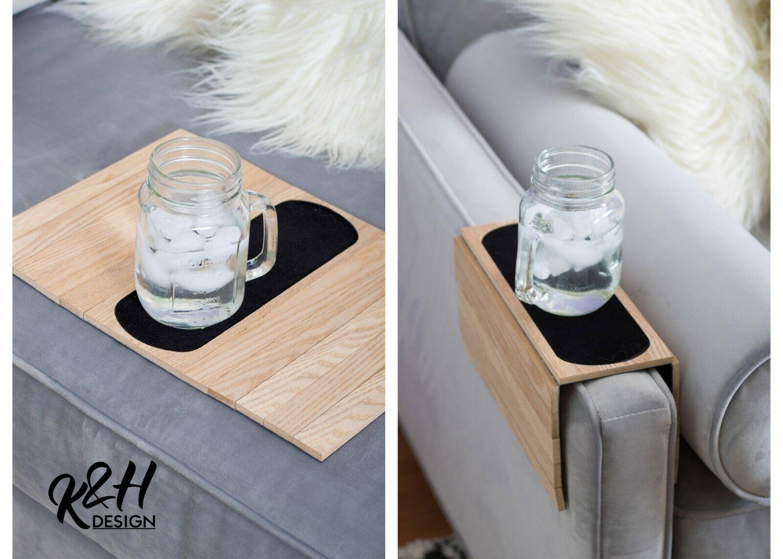 Kleeger Folding Tables Sofa Arm Tray