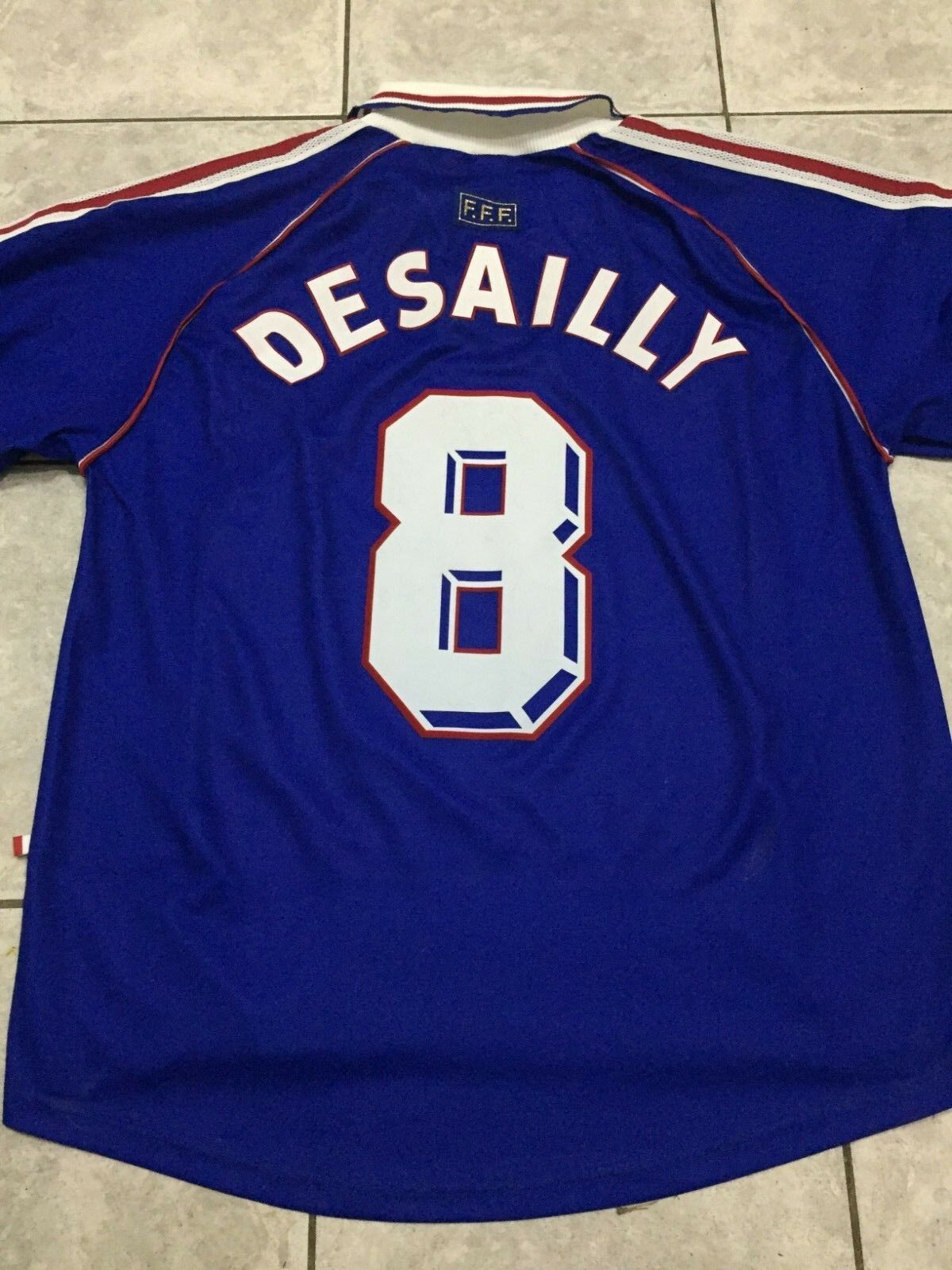 FRANCE 1998  Lted. Ed. SIGNED JERSEY DESSAILY  CHAMPION UNIQUE