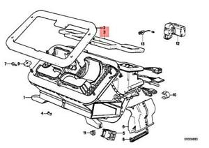 For BMW Genuine A//C Evaporator Core Seal 64111370937