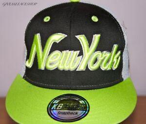 1bb72ef6c29 Image is loading NY-snapback-trucker-cap-New-York-baseball-hats-