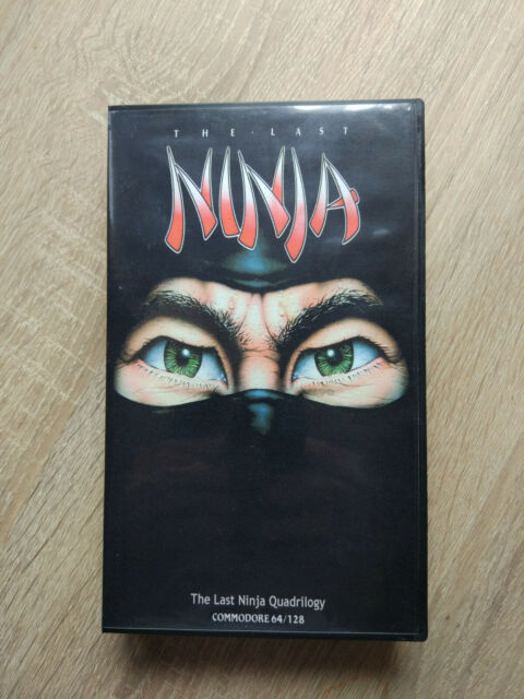 Commodore 64 Cartridge Games Last Ninja Quadrilogy EasyFlash Release